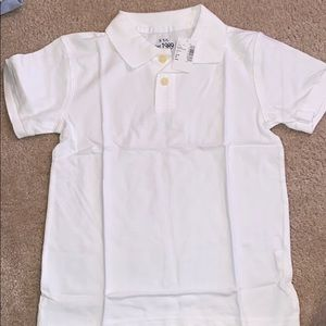 New Children's Place white Polo